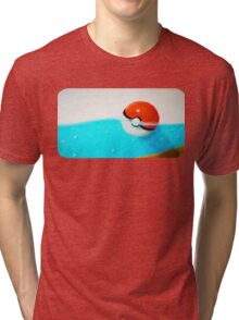 Forgotten Pokeball Tri-blend T-Shirt