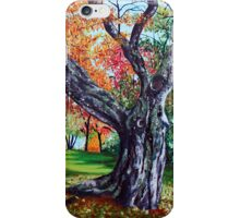 'OCTOBER TREE' iPhone Case/Skin
