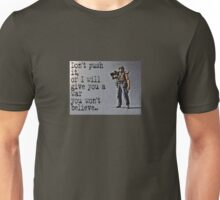 Rambo by Tim Constable Unisex T-Shirt