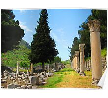 Ancient Agora of Ephesus Poster