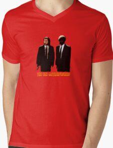 The BAD MOTHERFUCKERS - PULP FICTION Mens V-Neck T-Shirt