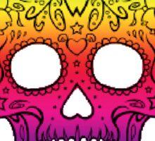 Single Rainbow Skull Sticker