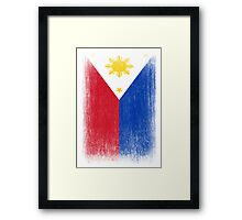 Philippines Flag Pacquiao Pride Framed Print