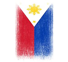 Philippines Flag Pacquiao Pride Photographic Print