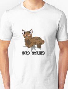 """""""Get Rekt"""" Mlg Cat Merchandise T-Shirt"""