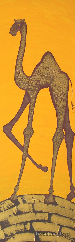 ELEGANT CAMEL (OUTBACK AUSTRALIA) by RoseLangford