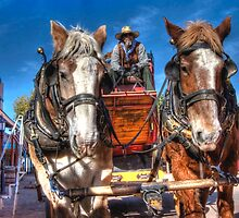 Tombstone Stagecoach by DesertDweller