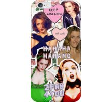 Gillian Anderson iPhone Collage Case iPhone Case/Skin