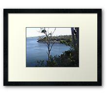 Eggs and Bacon Bay Southern Tasmania Framed Print