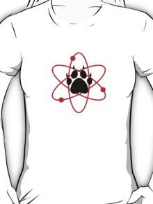 Carl Grimes Bear Paw and Atom (Red) T-Shirt - Comics T-Shirt
