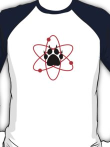 Carl Grimes Bear Paw and Atom (Red) T-Shirt - Comics T-Shirt