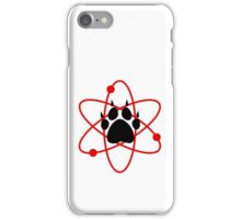 Carl Grimes Bear Paw and Atom (Red) T-Shirt - Comics iPhone Case/Skin
