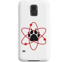 Carl Grimes Bear Paw and Atom (Red) T-Shirt - Comics Samsung Galaxy Case/Skin