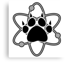 Carl Grimes Bear Paw and Atom (Gray) T-Shirt - Comics Canvas Print