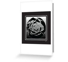 Monochrome bw Greeting Card