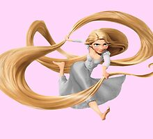 Rapunzel from Tangled Hair by foreversarahx