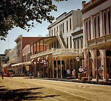 Old Sacramento by Barbara  Brown