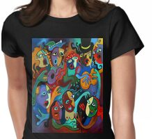 Guns n' Roses Concert Womens Fitted T-Shirt