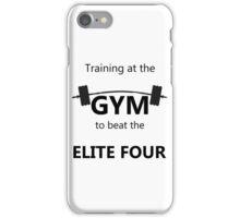 Elite Four Gym Shirt iPhone Case/Skin