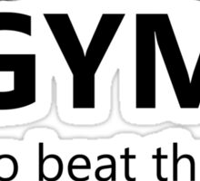 Elite Four Gym Shirt Sticker