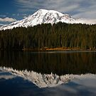 Reflection Lake by Olga Zvereva