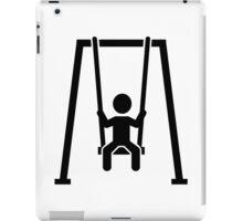 Children swing iPad Case/Skin