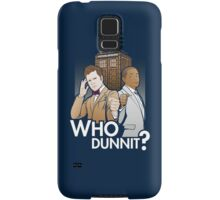 Who Dunnit? Psych Doctor Who Samsung Galaxy Case/Skin