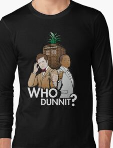 Who Dunnit? Psych Doctor Who Long Sleeve T-Shirt