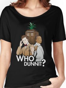 Who Dunnit? Psych Doctor Who Women's Relaxed Fit T-Shirt