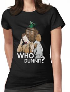 Who Dunnit? Psych Doctor Who Womens Fitted T-Shirt