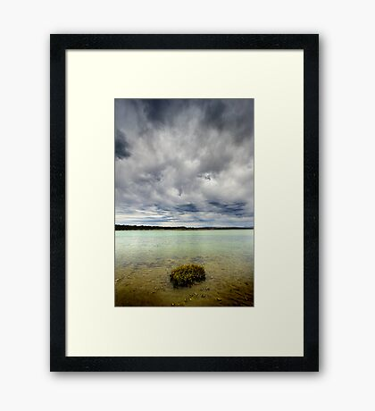 Merimbula Top Lake Framed Print