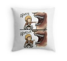 Armin Armout Throw Pillow