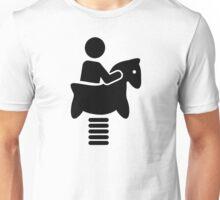 Playground swing horse Unisex T-Shirt