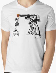 Peace Through Botany Mens V-Neck T-Shirt