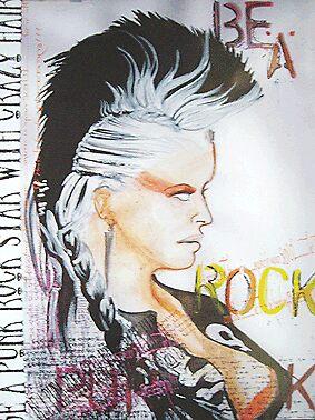 Punk rocker by coledes