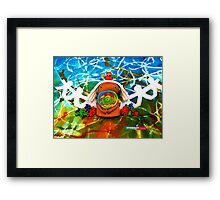 CHUNKIE Lollipop Lover Framed Print