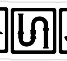 Plumber tools Sticker