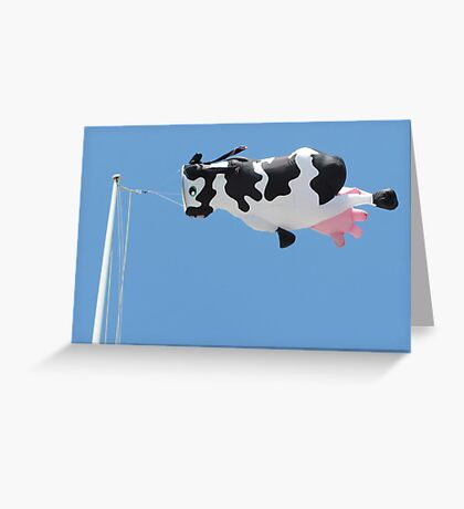 Udderly Unique Greeting Card