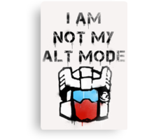 Anti-Functionist Canvas Print