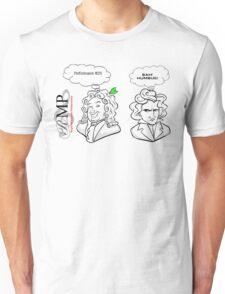 Handel vs Beethoven Unisex T-Shirt