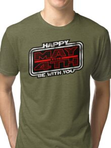 Happy May the 4th! (Slanted) Tri-blend T-Shirt