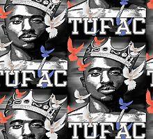 Tupac Shakur by Darryl Pickett