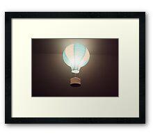 Little Balloon Framed Print