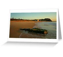 BAR BEACH BAR Greeting Card