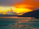 ST LUCIA SUNSET by Thomas Barker-Detwiler