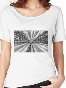 London Train Station Women's Relaxed Fit T-Shirt