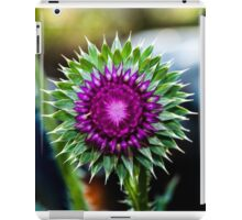 Thistle and Tractor iPad Case/Skin