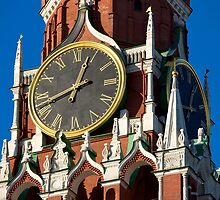 Tower clock by Mikhail Kovalev