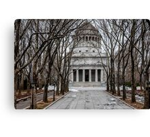 Grants Tomb Canvas Print