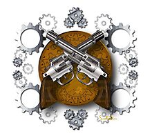 Clockwork Cowboy Photographic Print